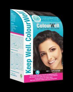 100% natuurlijke haarkleuring mild zwart