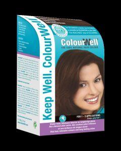 100% natuurlijke haarkleur donker kastanje bruin