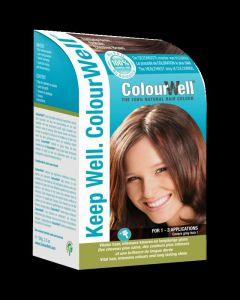 100% natuurlijke haarkleuring kastanje bruin