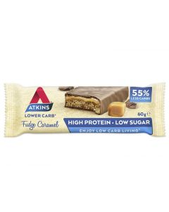 Atkins Fudge caramel reep 60g