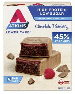 Atkins Chocolate Raspberry 5 x reep á 30 gram