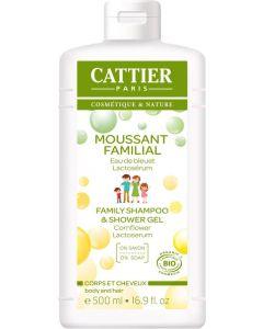 Family shampoo en shower gel