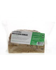 Multizaden donker brood gluten & lactosevrij
