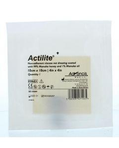 Advancis Actilite manuka non adhesive 10 x 10 1st