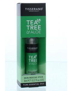 Tisserand Skin rescue stick tea tree aloe 8ml