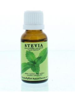 Stevia niet bitter druppelfles
