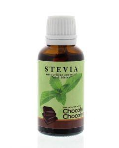 Beautylin Stevia chocolade glazen fles met druppeldop 30ml