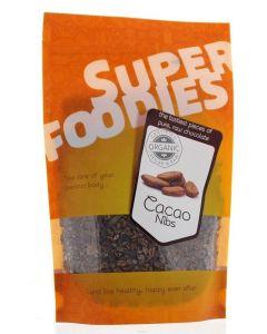 Rauwe cacao nibs