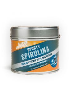Spirulina blauwgroene algenpoeder
