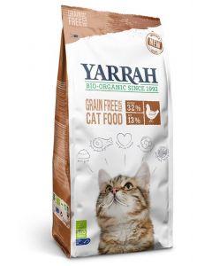 Yarrah Kat droogvoer kip & vis graanvrij 6000g