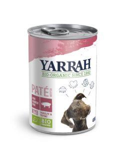 Yarrah Biologisch hondenvoer paté met varkensvlees 400g