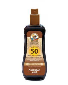 Australian Gold Spray gel bronzer SPF50 237ml
