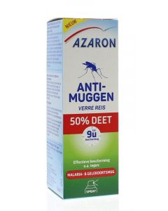 Azaron Anti muggen 50% deet spray 50ml