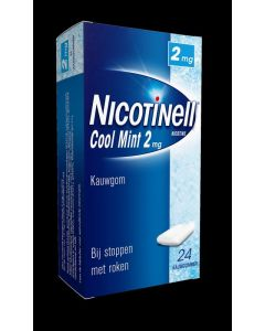 Nicotinell Kauwgom 2 mg 24st