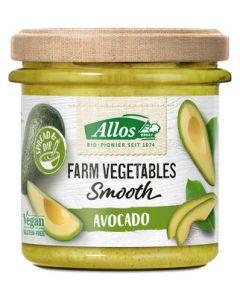 Allos Farm vegetables smooth avocado 140g