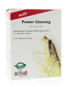 Activo Power ginseng 60ca