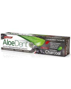 Aloe Dent Aloe dent tandpasta charcoal 100ml