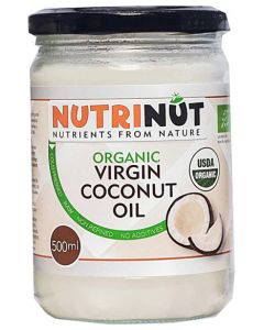 Nutrinut Kokosolie virgin bio in glas 500ml