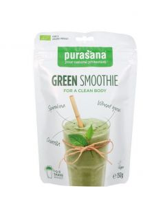 Green smoothie bio vegan