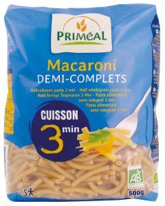 Macaroni halfvolkoren snelkook 3 minuten bio
