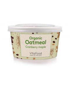 Vitafood Havermout cranberry ahorn 60g