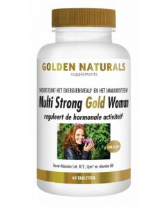 Golden Naturals Multi strong gold woman 60tb