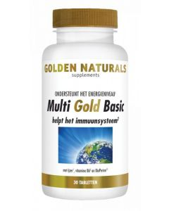 Golden Naturals Multi strong gold basic 30tb