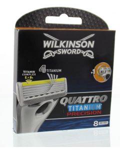 Quattro titanium precision 8 stuks 4E