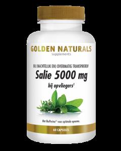 Golden Naturals Salie 5000 mg 60ca