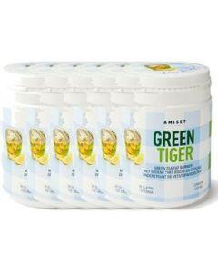 Amiset Green Tiger Green Tea Fat Burner Voordeelverpakking 6x132gram