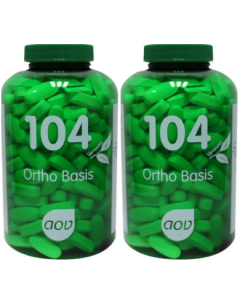 AOV 104 Ortho Basis 2 x 270 tabletten