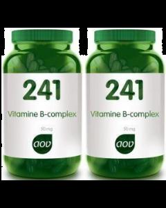 AOV 241 vitamine B complex 50mg 2x 180 capsules