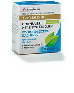 Arkopharma Essentiel Granules voor een goede Nachtrust 20 granules