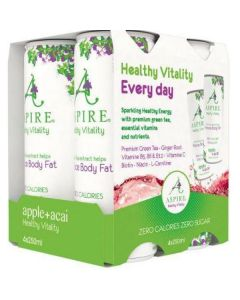 Aspire Diet Health Drink Apple Acai 4-pak (4x250 ml)