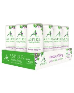 Aspire Diet Health Drink Apple Acai 12-pak (12x250 ml)