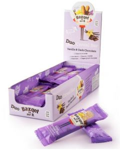 Bazqet Granola Duo Vanille & Dark Cholade 24 gram