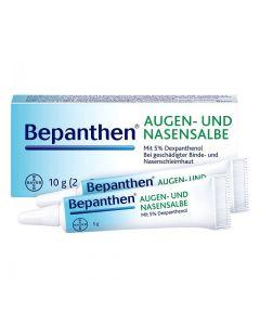 Bepanthen Oog & Neuszalf (Augen- und Nasensalbe) 10 gram (2x 5 gram)