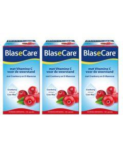 Pharmafood Blasecare Cranberry & D-Mannose  triopak 3x 100 capsules