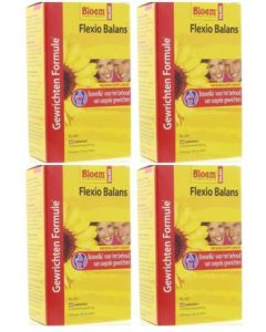 Bloem Flexio Balans vier-pak 4x 60 tabletten
