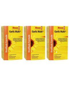 Bloem Garlic Multi+ Trio-pak 3x 100 capsules (Knoflook)