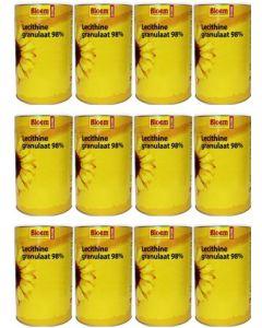 Bloem Lecithine Granulaat 98% twaalf-pak 12x 400 gram