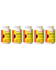 Bloem Rode Gist Rijst+ Cholesterol vijf-pak 5x 60 capsules