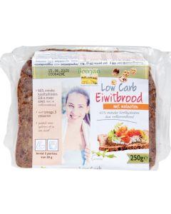 Boerjan Low Carb Eiwitbrood Walnoten 250 gram (koolhydraat arm)