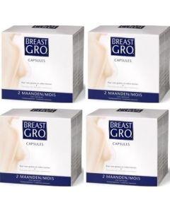Breast Gro vier-pak 4x 270 capsules