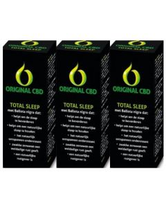 CBD Original CBD Total sleep trio-pak 3x 100ml