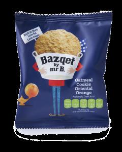 Bazqet Oatmeal Cookie Oriental Orange 30 gram