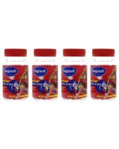 Dagravit Kids gummies Dora 4-pak voordeelpak 4x 60st (=240 gummies)