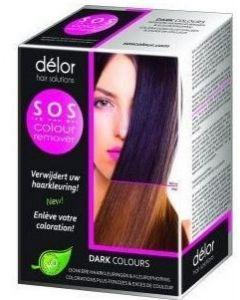 Delor SOS Colour Remover, verwijdert uw haarkleuring, Dark Colours 3 x 60 ml