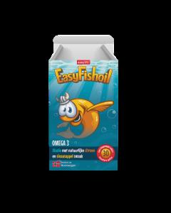 EasyVit EasyFishOil 30 kauwgellies (lekker & makkelijk voor ieder kind)