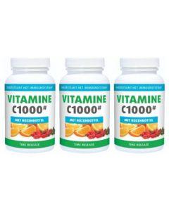 Gezonderwinkelen.nl Vitamine C 1000mg trio-pak 3x 250 tabletten